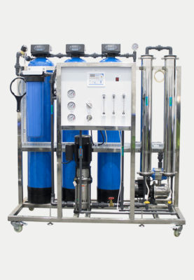Complete Reverse Osmosis Water Treatment Plant