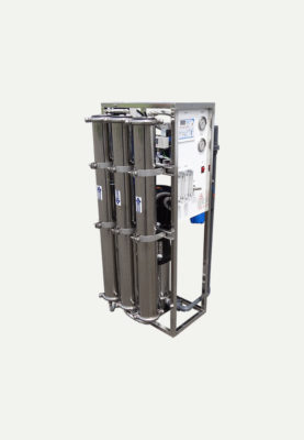 4500 GPD Reverse Osmosis System With Vertical Multistage Pump