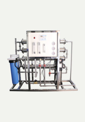 8000 GPD Reverse Osmosis System With Vertical Multistage Pump