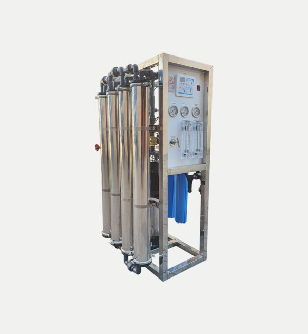 Reverse Osmosis System 8000 GPD With Vertical Multistage Pump