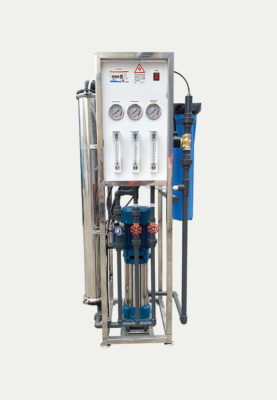 Reverse Osmosis System 2000 GPD With Vertical Multistage Pump